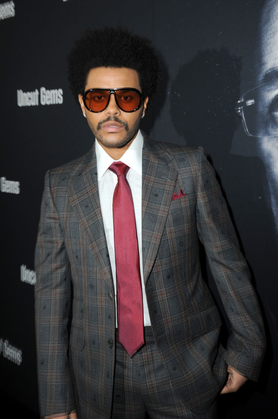 LOS ANGELES, CALIFORNIA - DECEMBER 11: The Weeknd attends the Los Angeles Premiere of ″Uncut Gems″ on December 11, 2019 in Los Angeles, California. (Photo by Joshua Blanchard/Getty Images for A24)