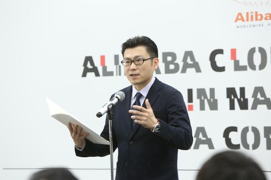 알리바바그룹 최고마케팅책임자(CMO) 크리스 텅(董本洪). 사진 알리바바 그룹