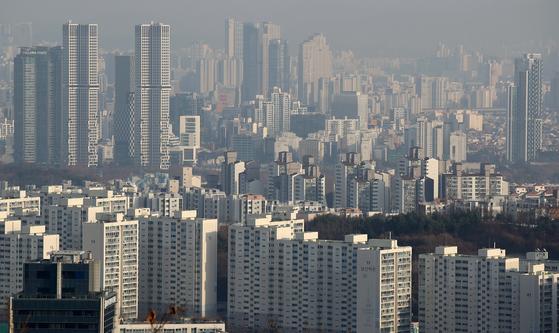 서울 시내의 아파트 모습. [연합뉴스]