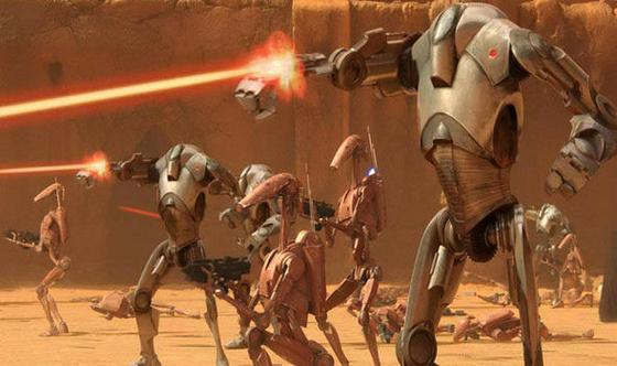 인간 대신 로봇이 전쟁을 대행하는 시대가 온다.