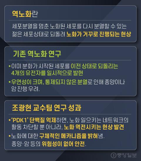 역노화란. 그래픽=김영희 02@joongang.co.kr