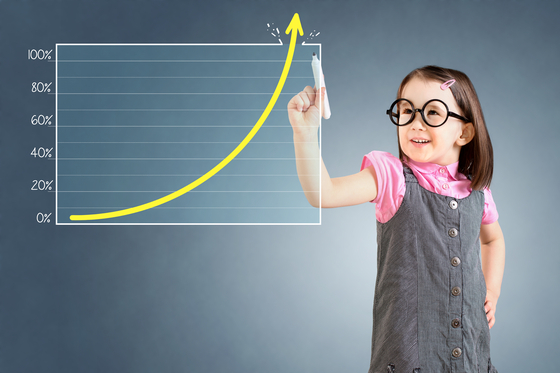 저금리와 주식투자 붐이 맞물리며 미성년자 주식계좌 개설도 크게 늘고 있다. 셔터스톡