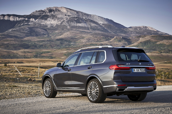 BMW의 플래그십 스포츠액티비티차량(SAV) 뉴 X7. 사진 BMW코리아