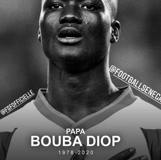 한일월드컵 1호 골을 기록한 부바 디오프가 지병으로 세상을 떠났다. 향년 42세. [사진 세네갈축구협회 인스타그램]