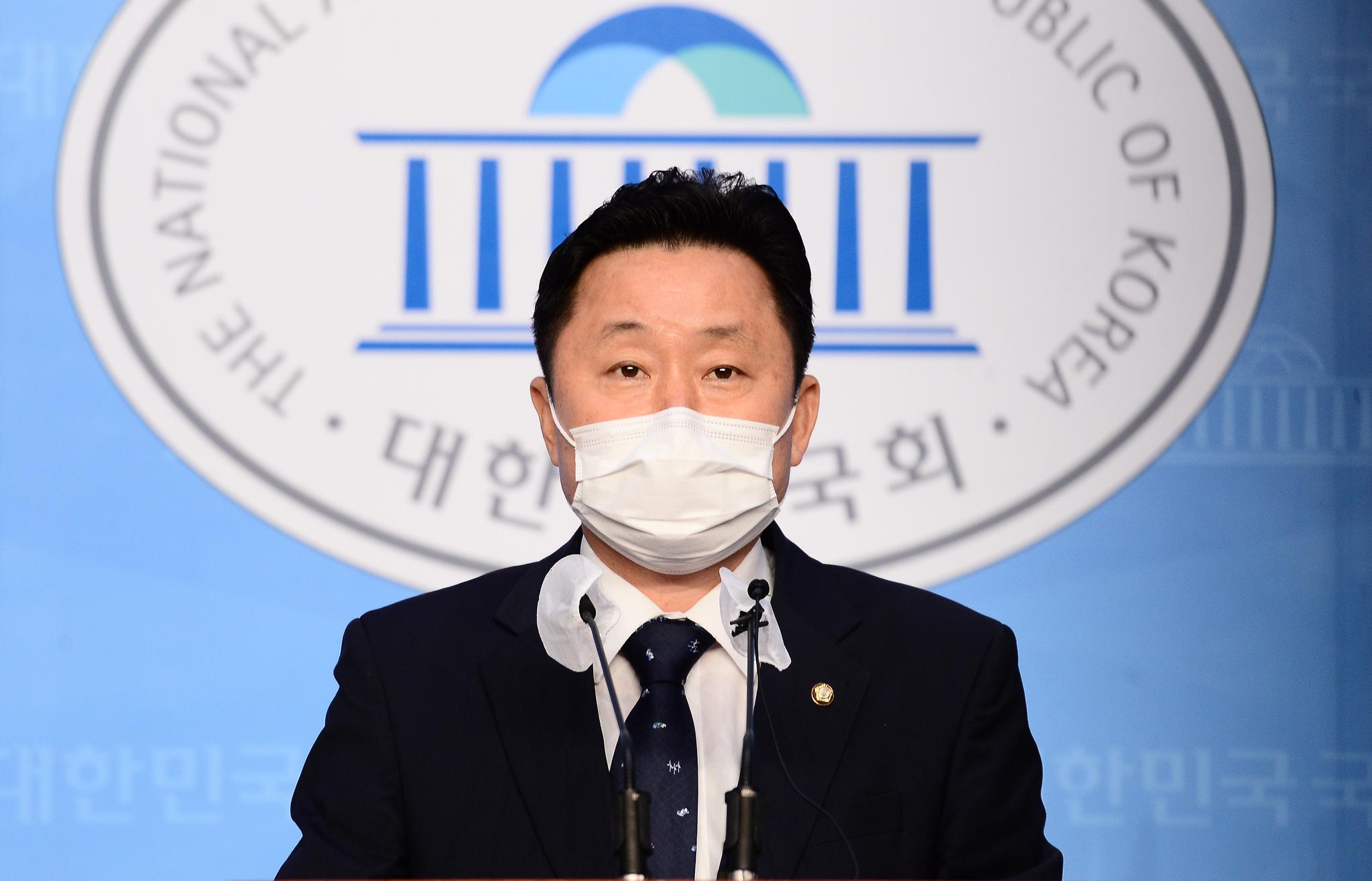 더불어민주당 최인호 수석대변인. 중앙포토