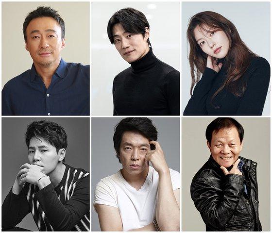 영화 '핸섬가이즈' 출연 배우진