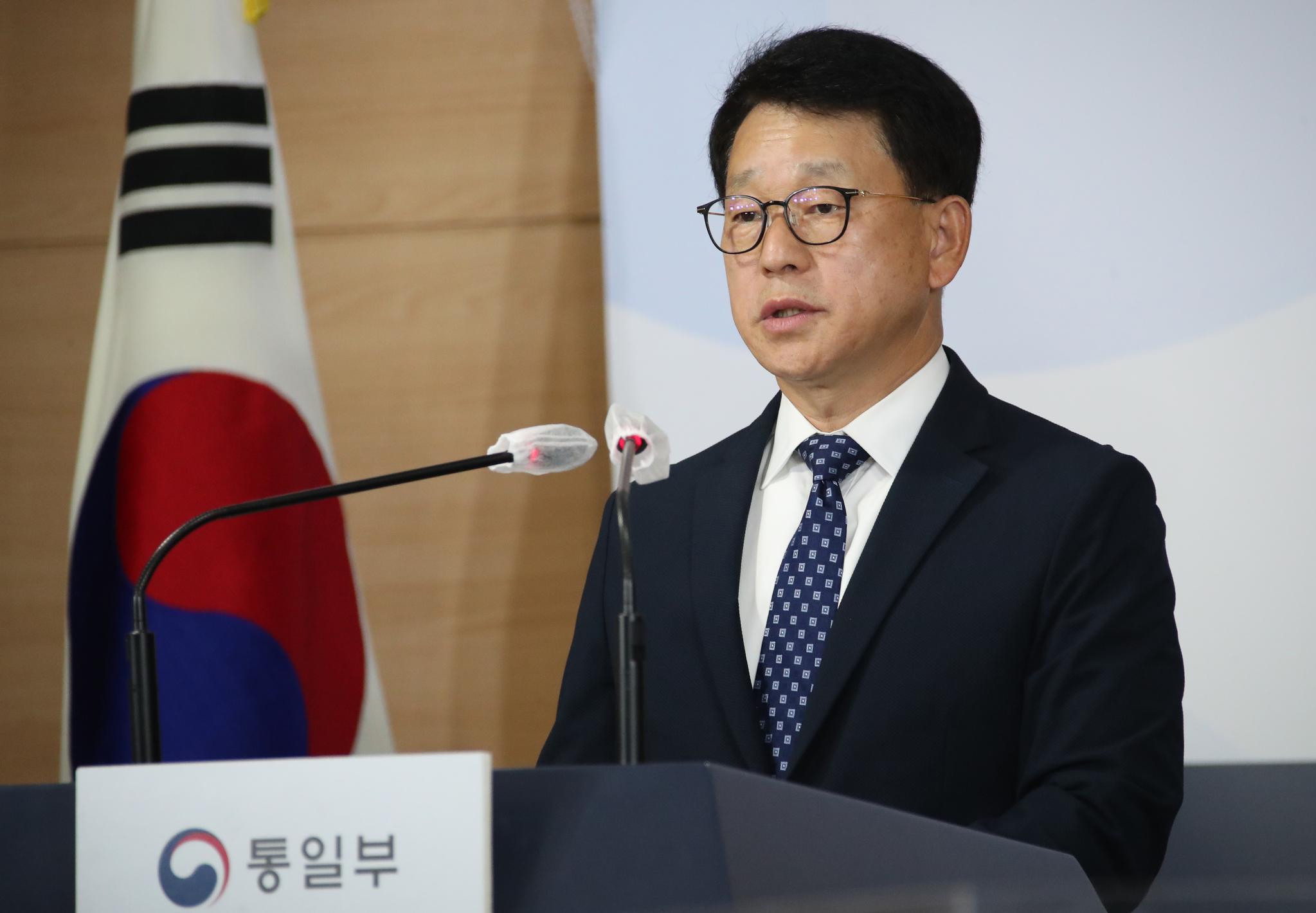여상기 통일부 대변인. 연합뉴스