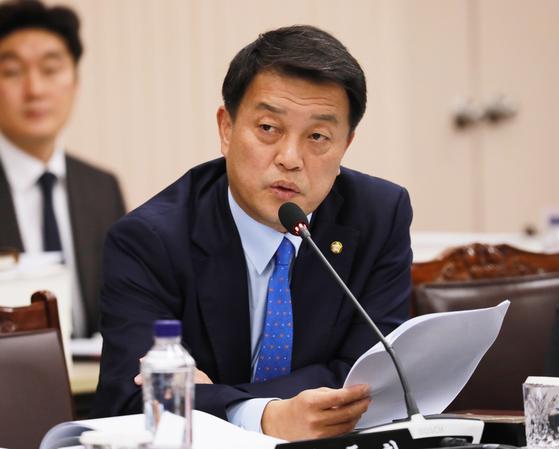 더불어민주당 소속 윤준호 전 국회의원. 뉴스1