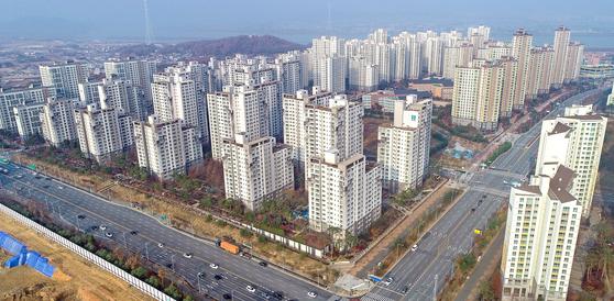 경기도 김포의 아파트 단지 모습. 연합뉴스