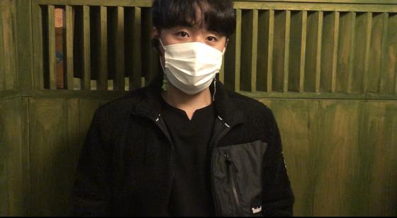 한상훈 청년 사다리차 대표가 1일 중앙일보와 인터뷰하고 있다. 채혜선 기자