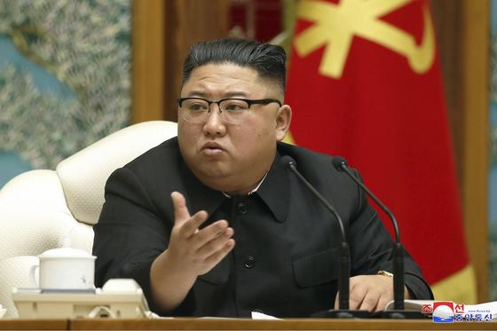 김정은 북한 국무위원장. [AP=연합뉴스]
