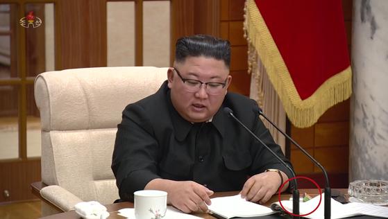 김정은 북한 국무위원장. [조선중앙TV 화면=연합뉴스]