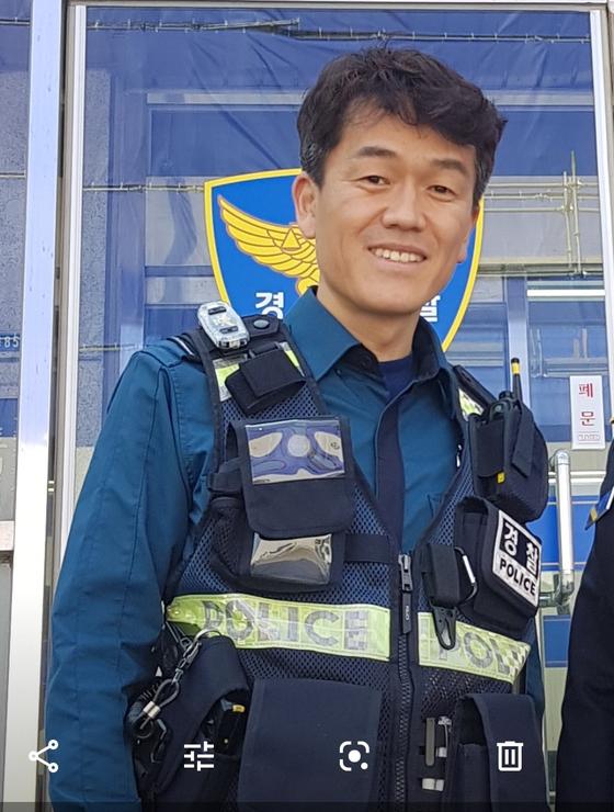 이시우 구리경찰서 교통관리계 4팀장. 경기북부지방경찰청