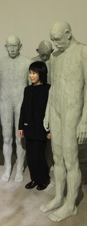 2020년 김세중조각상을 수상한 배형경 작가. [사진 김세중미술관]