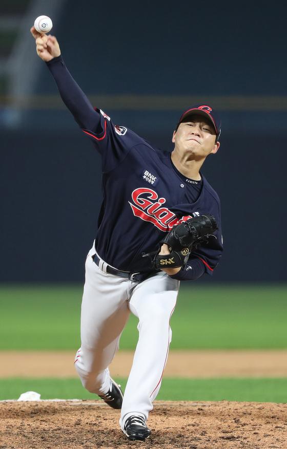 롯데에서 KT로 이적하게 된 투수 박시영 [연합뉴스]