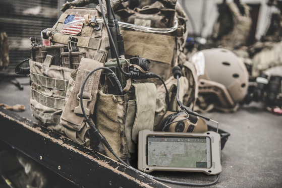 삼성전자가 미국 국방부와 함께 개발한 갤럭시 S20 전술용(TE). [삼성전자]