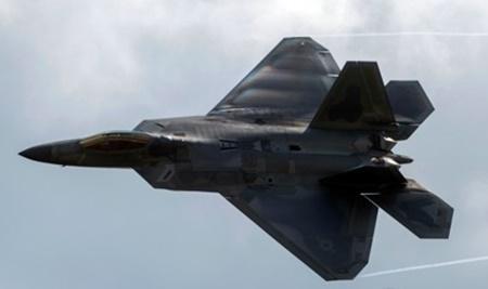 미국 최첨단 스텔스 전투기 F-22 랩터. AFP=연합뉴스