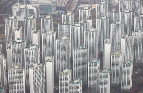 서울 아파트 단지의 모습. 연합뉴스