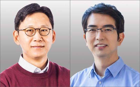 배경훈(左), 이홍락(右)