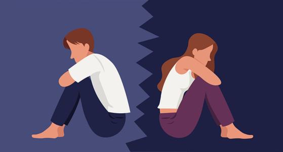 엄마의 지나친 사랑에 자신들의 영역이 사라진 부부는 함께 있어도 의미 없는 삶에 이혼하기로 합의했다. [사진 pixabay]