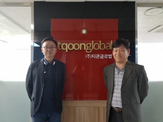 말레이시아 법인 강현 대표(좌측)와 티쿤 김종박 대표(우측)