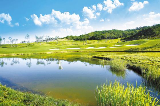 안달루시아 골프&타운하우스를 분양받으면 골프장 12곳을 4인 무기명 회원가로 이용할 수 있다.