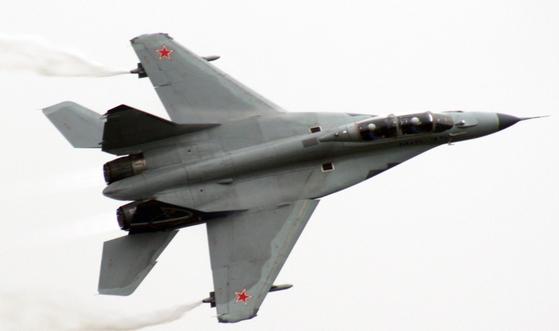 러시아제 MiG-35 전투기. 위키피디아 캡처