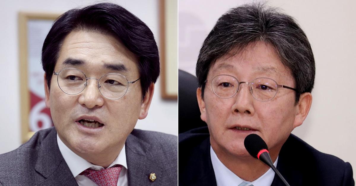 박용진 더불어민주당 의원(왼쪽)과 유승민 전 미래통합당 의원. 연합뉴스·뉴스1