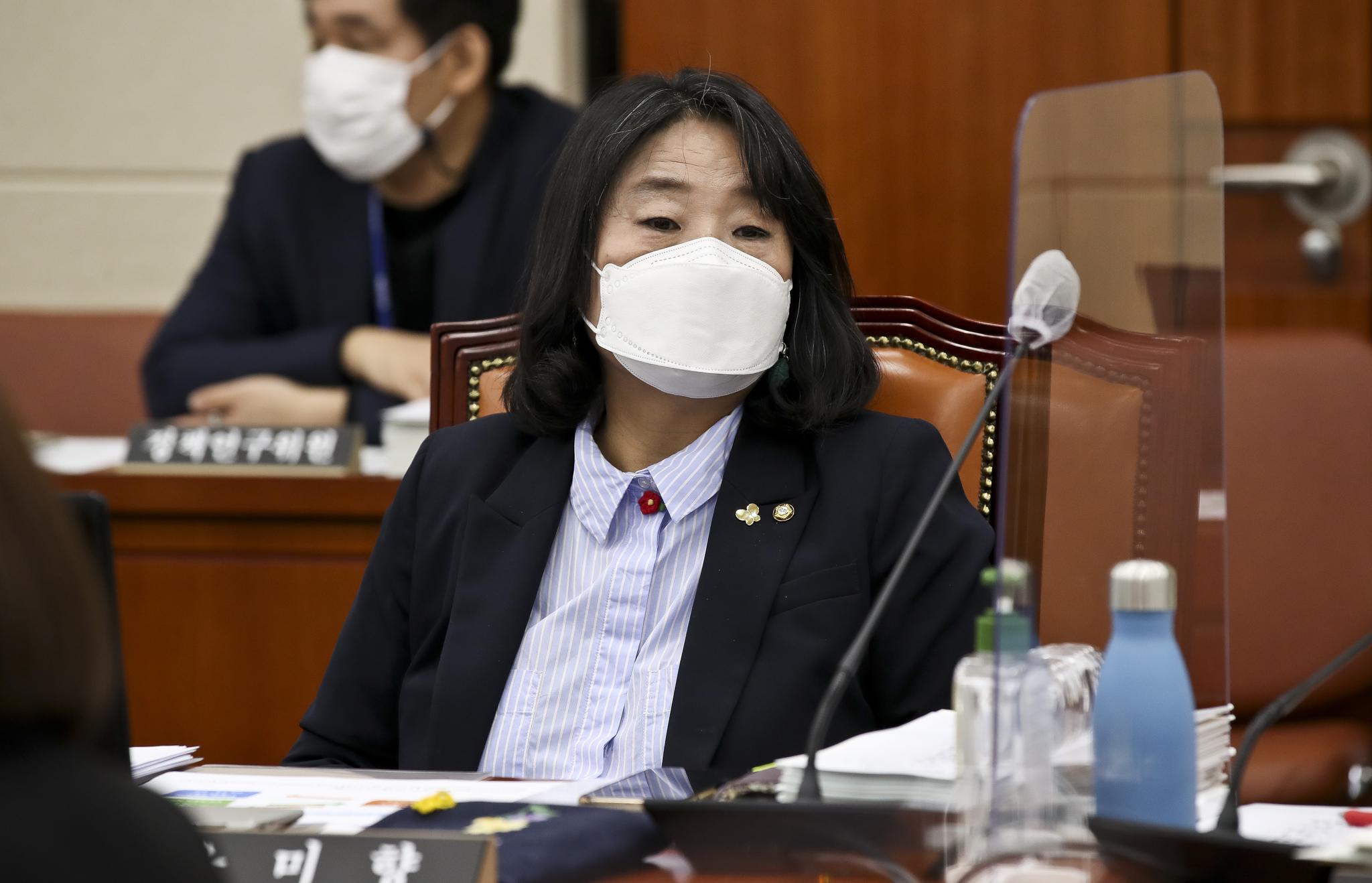 더불어민주당 윤미향 의원. 오종택 기자