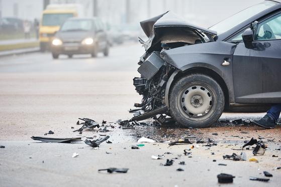 자동차 사고 자료 사진. 셔터스톡
