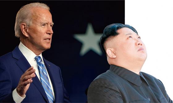 조 바이든 미국 민주당 대선후보의 당선으로 미국의 한반도 정책에도 큰 변화가 예상된다. 미국과 관계 개선을 꾀했던 김정은 북한 국무위원장도 대미 전략 수정이 불가피해졌다. / 사진:연합뉴스