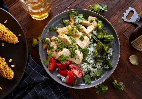 잇저스트의 배양육으로 만든 닭고기 요리. 로이터=연합뉴스