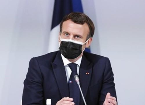 에마뉘엘 마크롱 프랑스 대통령. AP=연합뉴스