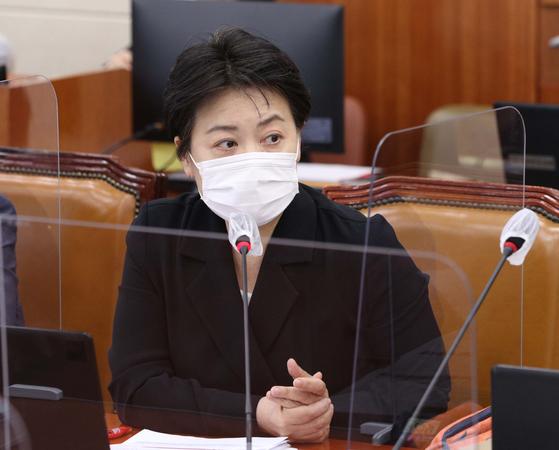 윤희숙 국민의힘 의원. 오종택 기자