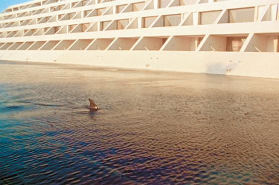 '시프리앙 가이야르 개인전'이 아뜰리에 에르메스에서 내년 1월 17일까지 열린다. 사진은 멕시코 칸쿤에서 촬영한 'The Cities of Gold and Mirrors' 영상 스틸. [사진 에르메스 재단]