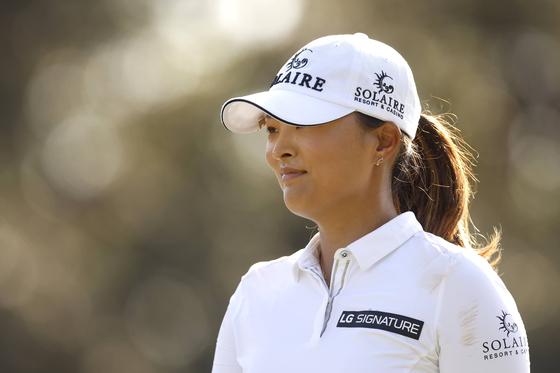 CME 그룹 투어 챔피언십에서 우승하며 LPGA 투어 시즌 상금왕을 달성한 고진영. [AFP=연합뉴스]