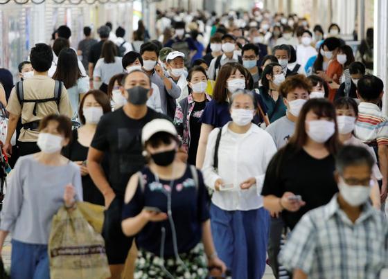 지난 9월 일본 도쿄의 모습. 로이터=연합뉴스
