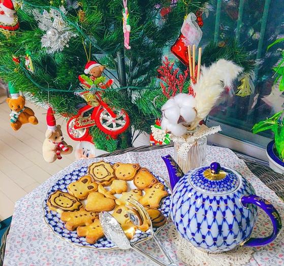 독자 A씨가 크리스마스 홈파티를 준비한 사진. 위 사진은 기사 내용과 무관. 사진 독자 제공