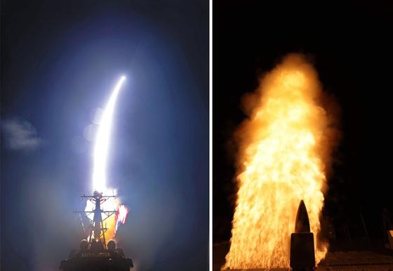 미국 미사일방어청(MDA)이 지난달 17일(현지 시각) 대륙간탄도미사일(ICBM)을 군함에서 쏘아올린 요격미사일로 격추하는 시험에 성공했다고 밝혔다. 사진 미 미사일방어청 홈페이지, 뉴시스