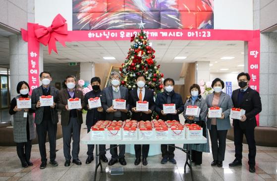 계명문화대학교, 코로나 취약계층 물품 지원