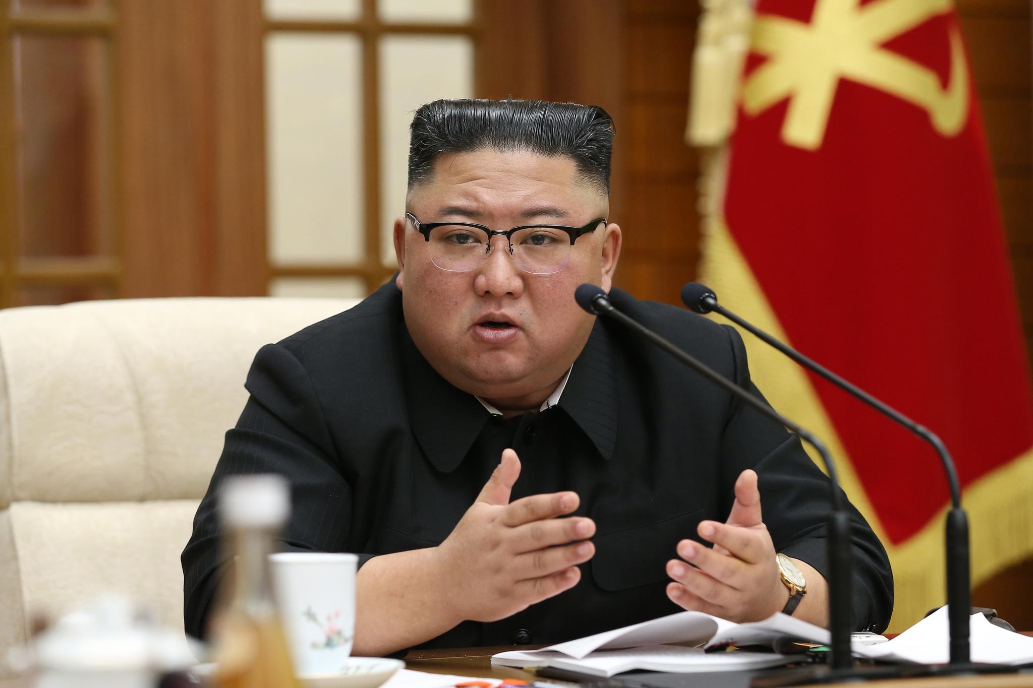 북한 김정은 국무위원장. 뉴스1