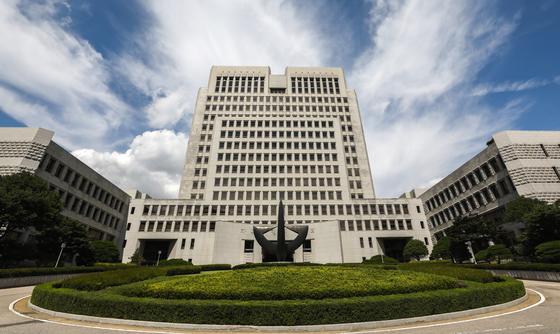 지난 2018년 9월 서울 서초구 대법원 청사. [뉴스1]