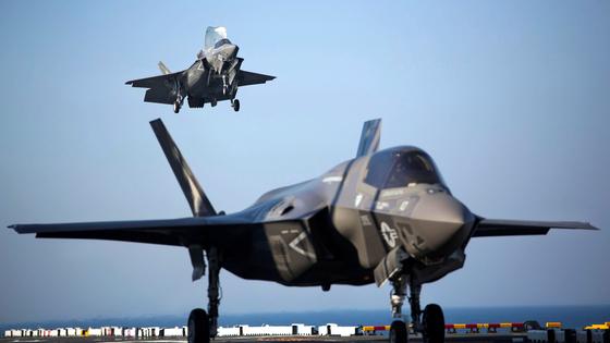 미 해병대 F-35B 전투기 [미 해병대=REUTERS=연합뉴스]