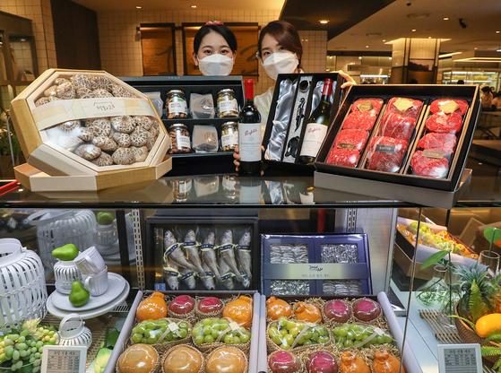 현대백화점은 내년 1월 4일 설 선물세트 예약판매를 시작한다고 30일 밝혔다. 사진 현대백화점