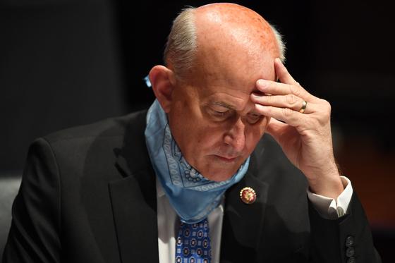 공화당 하원의 원인 Louis Gomert는 미국 부통령이 선거인단 인증 과정에서 광범위한 재량권을 가져야한다고 주장하며 선거 집계 법에 대한 소송을 제기했습니다. [AP=연합뉴스]
