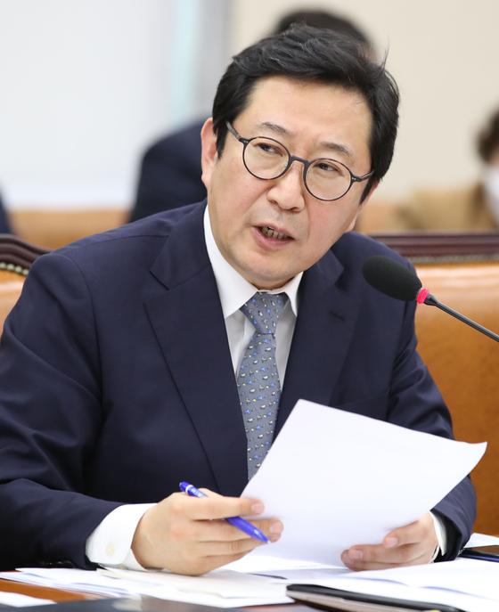 """김한중 """"원 회장, 연두 기자 회견에서 사면 논란 언급"""""""