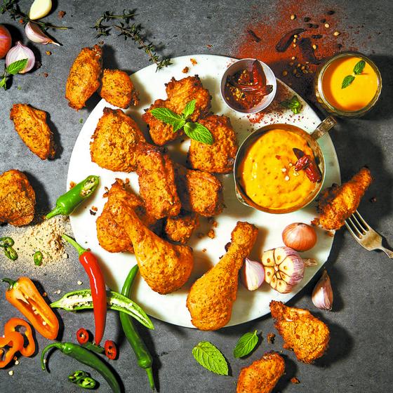 외국 현지인이 가장 선호한 한식이 '한국식 치킨'인 것으로 나타났다. 굽네치킨