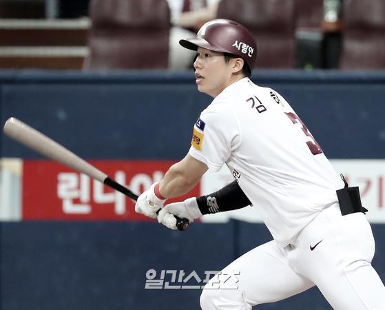2021시즌 키움의 주전 유격수로 발돋움할 기회를 잡은 김혜성. IS포토