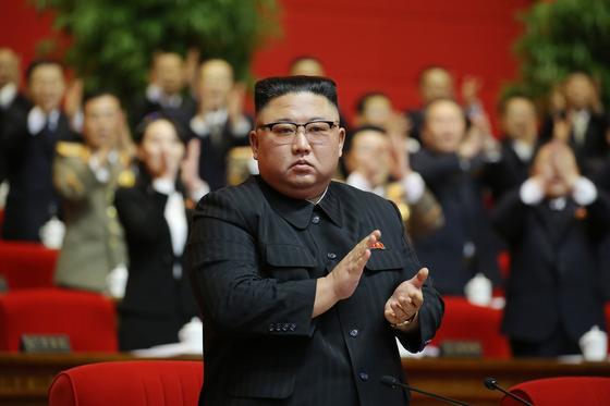 김정은 북한 국무위원장이 제8차 노동당 대회를 통해 당 '총비서'로 추대됐다고 당 기관지 노동신문이 11일 전했다. [뉴스1]
