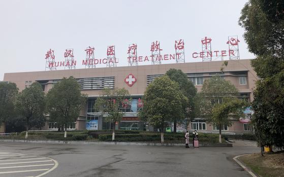 신종 코로나바이러스 감염증(코로나19) 환자들이 격리 수용됐던 중국 후베이성 우한 진인탄 병원. 우한=연합뉴스